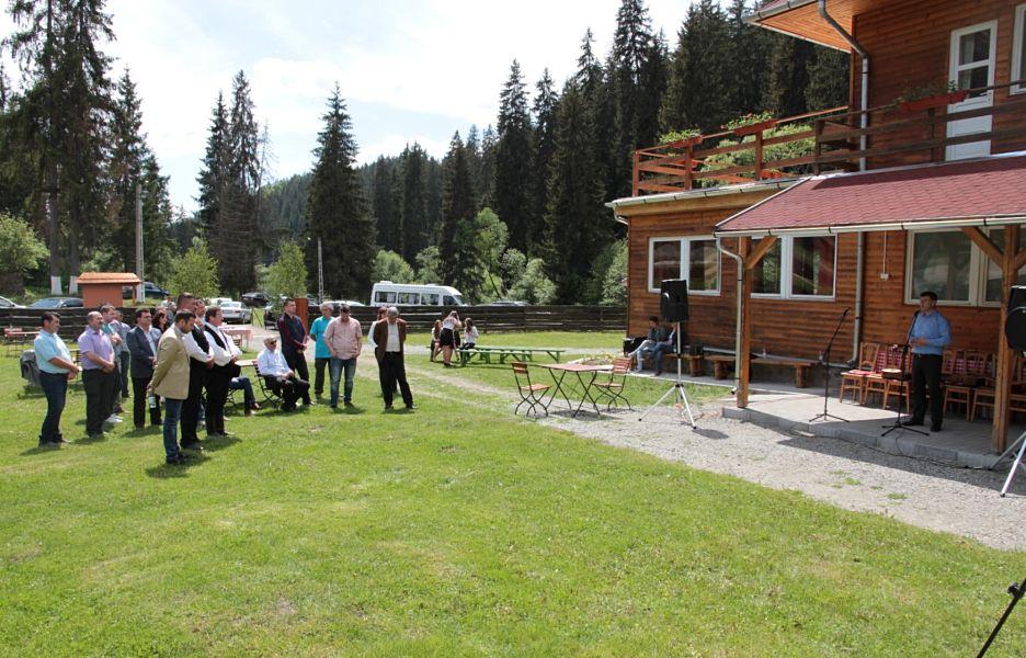 S-a redeschis vila nr. 6 din fosta tabără de tineret de la Băile Homorod