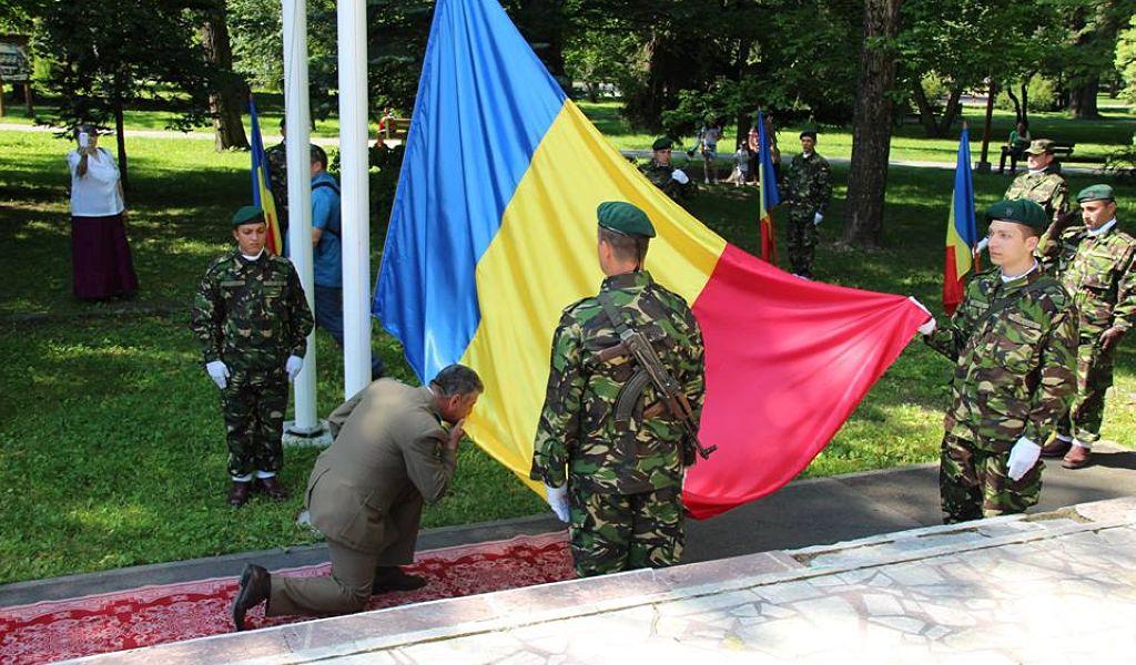 Drapelul Naţional sărbătorit la Tulgheș și  Miercurea Ciuc
