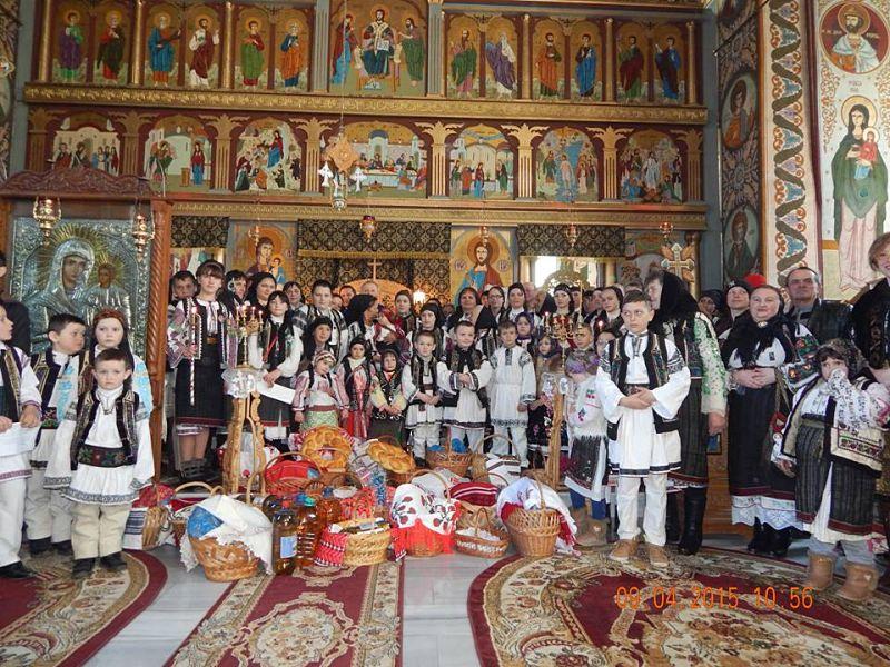 Românii din Harghita, păstrători ai tradițiilor de Sfintele Paști