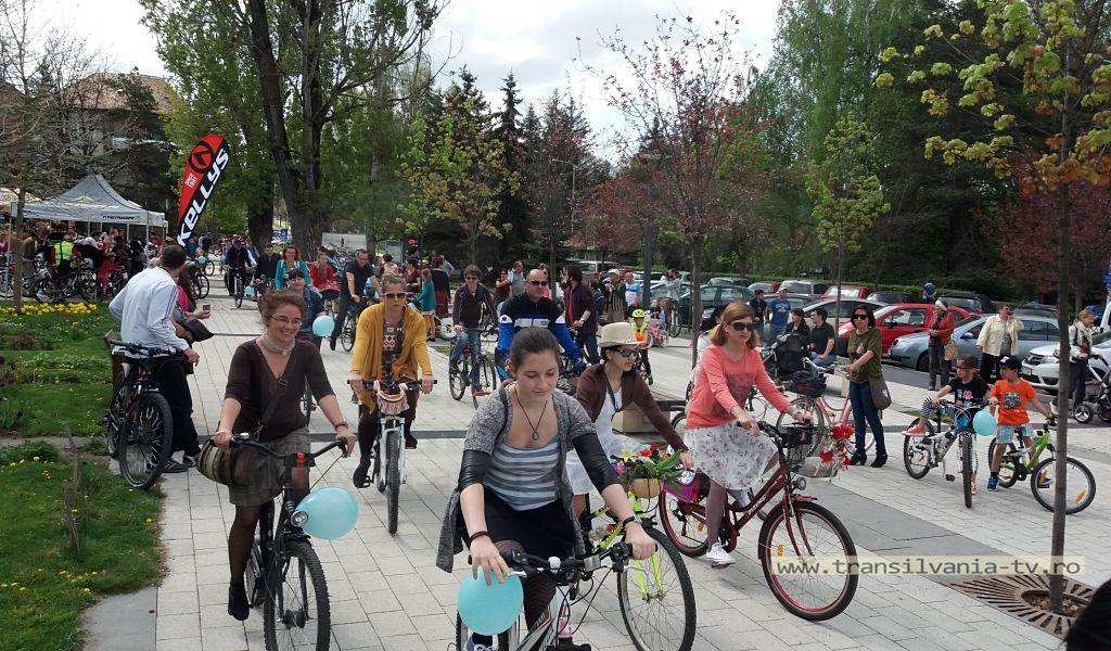 Skirt Bike în premieră la Miercurea Ciuc